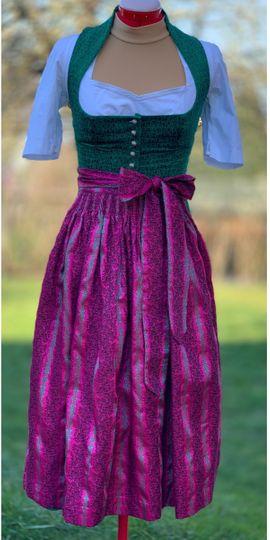 Damenbekleidung - Gottseidank Dirndl Marei Smaragdgrün mit