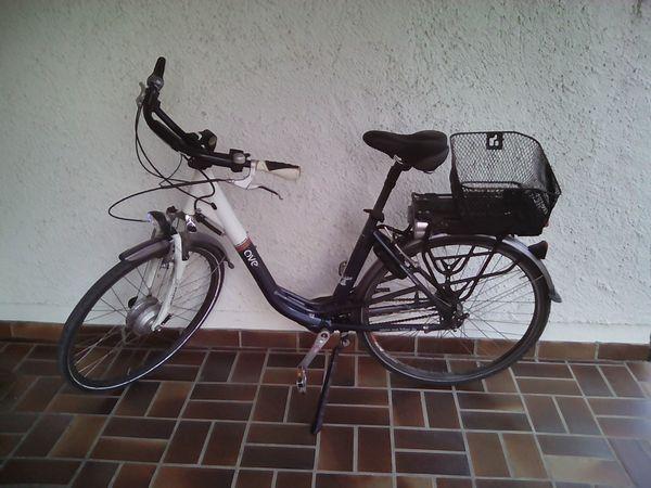 Damen Fahrad E bike tranz