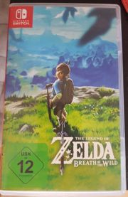 Verkaufe Zelda Breath Of The
