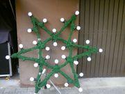 Weihnachtsstern für den Außenbereich Deko