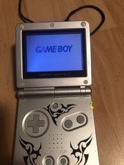 Nintendo Gameboy advance SP Silber