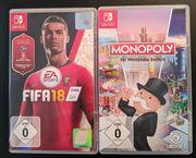 FIFA 18 WM-Edition und Monopoly -