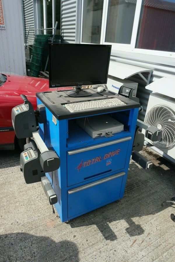 Achsmessgerät RAV TD 1700 Achsvermessung