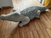 Garten Deko Krokodil 1 Meter