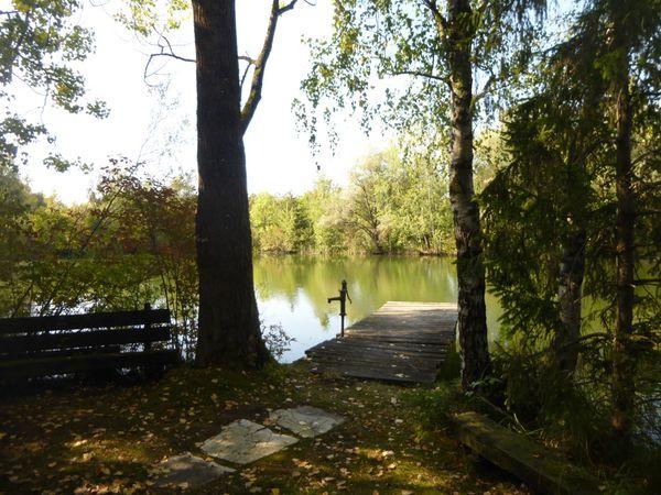 Nähe München verkehrsgünstig gelegener Fischweiher