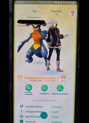 Ich verkaufe meinen Pokemon go