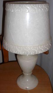 Tischlampe aus Alabaster