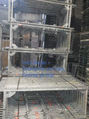 290 m² gebrauchtes Gerüst Layher
