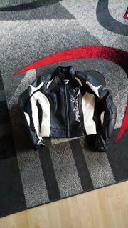 Damen Motorradlederjacke