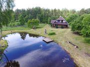 Litauen, Gehöft, Bauernhaus ,