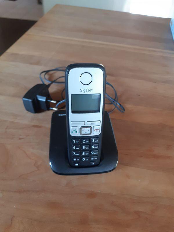 Gigaset A400 ISDN Schnurlostelefon