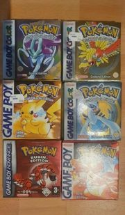 Pokemon Editionen Original
