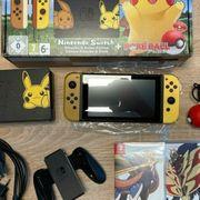 Nintendo switch in der Pikachu