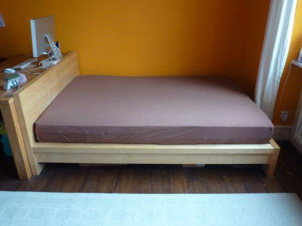 IKEA MALM Schlafzimmer Bett Kommode