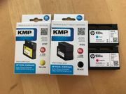 HP KMP Druckerpatronen 933XL H107