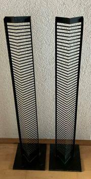 Schwarze CD-Ständer Metall