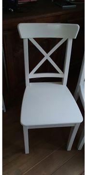 4 gut erhaltene Ingolf Stühle