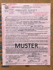 original Künstlervertrag MUDDY WATERS 1977
