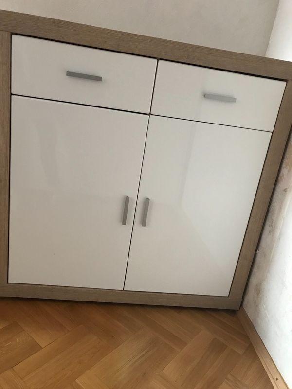 Hochglanz Sideboard In Leonberg Wohnzimmerschränke Anbauwände