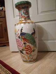 Chinesische Vase Porzellan Bodenvase