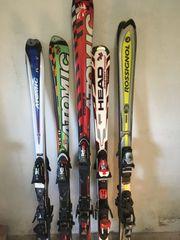 Ski 5 Paar gebraucht