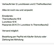 Lunchbox und Thefmoflasche