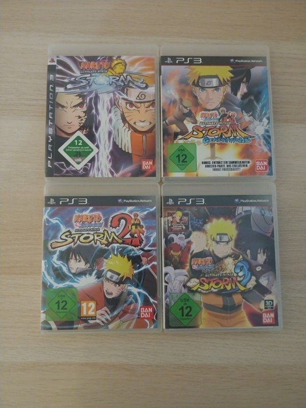 PS3 Spiele Naruto Storm 1-3