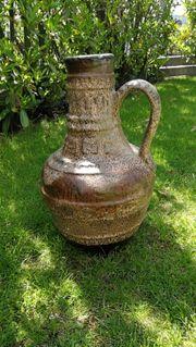 Vase Krug aus Steingut Keramik