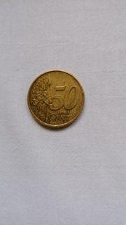 50Cent Münze Niederlande