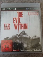 the Evil Within PS3 Playstation