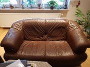 2 Sitzer Sofa - Echtes Leder