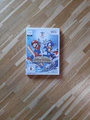 Wii Mario Sonic bei den