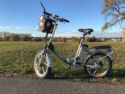 Klpp-E-Bike MOBILIST fast neu
