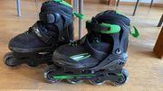 Inline Skates mit Schutzteilen für