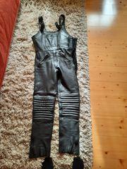 Motorrad Jacke und Hose schwarz