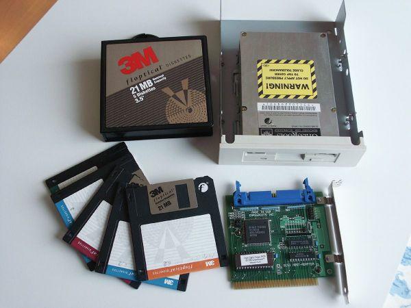 Floptical Grassroots SCSI inkl Controller