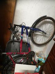 2 Fahrräder und Zubehör