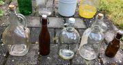 Glasflasche Ballonflasche Glas Flasche Bügelflasche