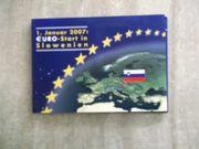 Euro-Münzen Slowenien und die letzten