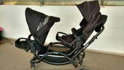 Kinderwagen Geschwisterwagen Doppelkinderwagen