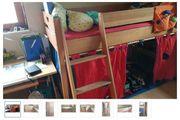 Kinderzimmer Buche Paidi Welle Hochbett