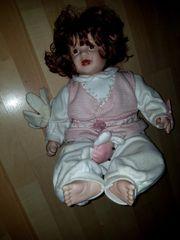 2 alte Porzellan Puppen