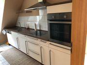 Küchenzeile mit Elektrogeräten - gebraucht modern
