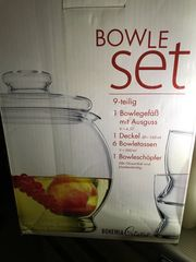 Bowle Set 8 Teilig