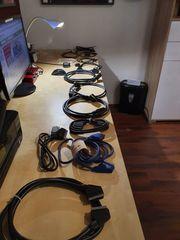 8 Scart Kabel 5 Antennenkabel