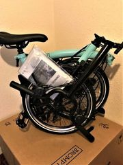 Fahrrad Brompton M6L türkischgrün 2020