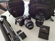 Nikon D5200 mit Zubehör Nikon