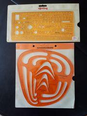 Rotring technische Schablonen Elektro Parabeln