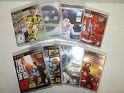 Video Spiele Konvolut für PS