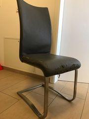 8 Stühle PU-Beschichtung blättert ab